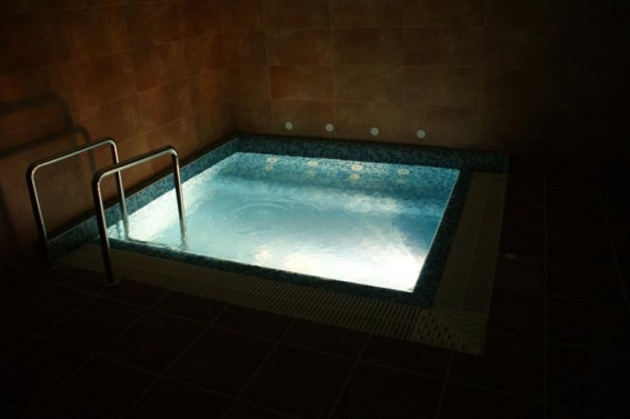 SPA - Jacuzzi with mineral water